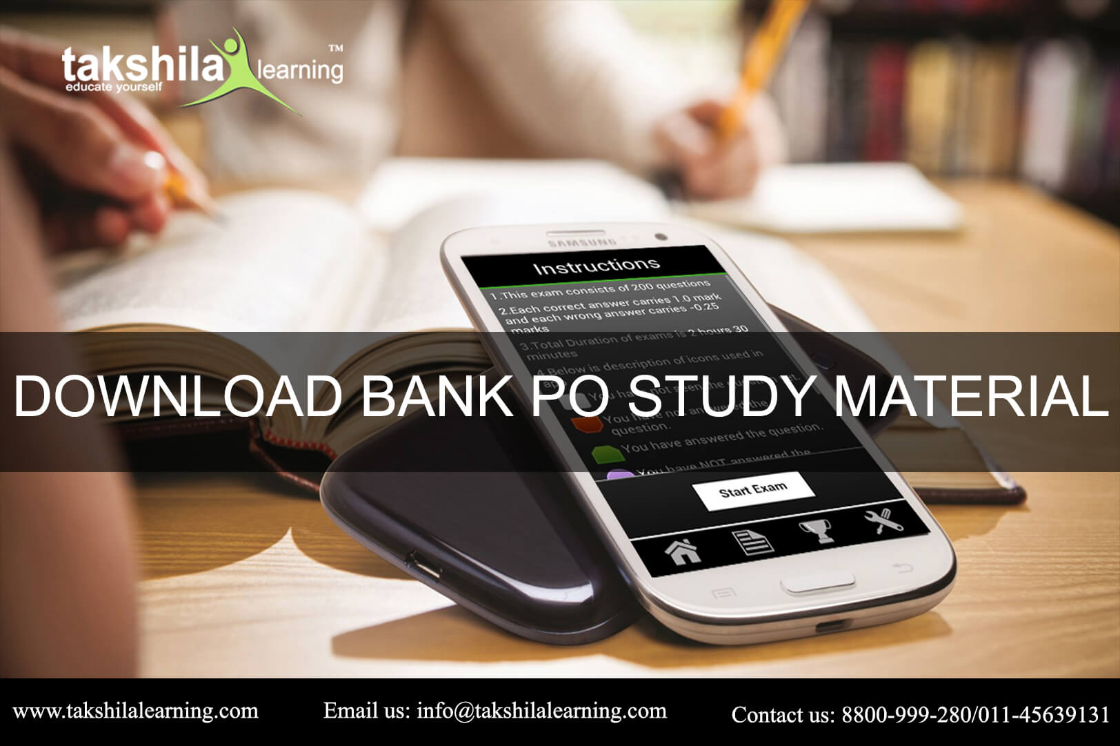Download bank PO Exam study material | Study Material for IBPS Exam