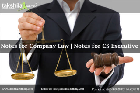 Where I can Get Best Notes on company Law, Company Law notes for cs executive