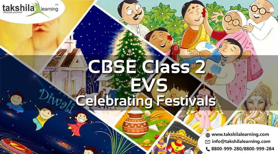 NCERT & CBSE Class 2 EVS Celebrating Festivals