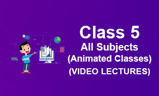 Class 5 Online Classes - Get Class 5th Online Video Classes At your Home