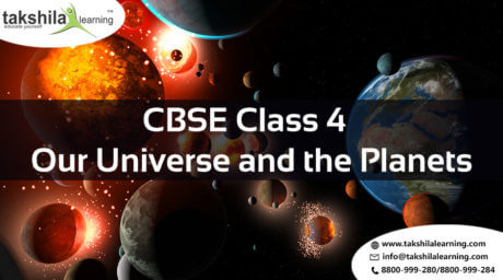 CBSE Class 4 Science Our Universe and the Planets lessons, exercises