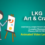 LKG Art and Craft Online Classes