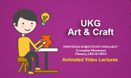 UKG Art & Craft Online Classes