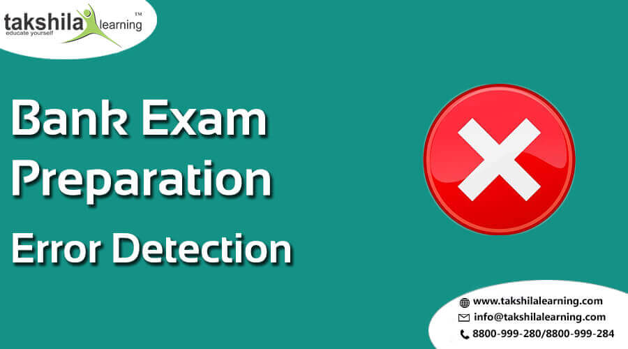 Error Detection Questions for IBPS/SBI - PO 2017