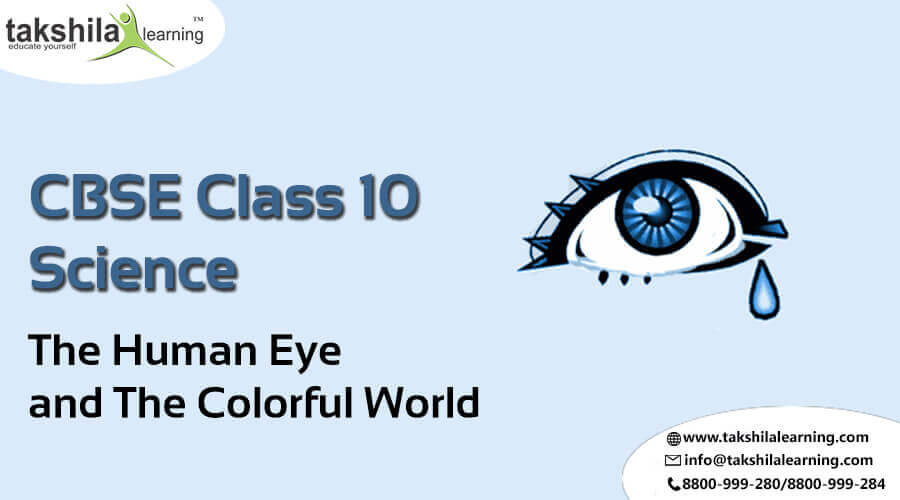 NCERT Solutions for Class 10 Science The Human Eye and the Colorful World