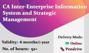 CA Inter-Enterprise Information System and Strategic Management (CA Inter EIS & SM Online Classes)