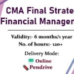 CMA Final Strategic Financial Management