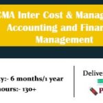 CMA Inter Cost and Management Accounting and Financial Management Video Lectures