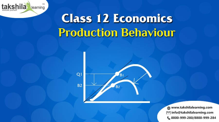Production Behaviour and Types of Production Function Economics Class 12