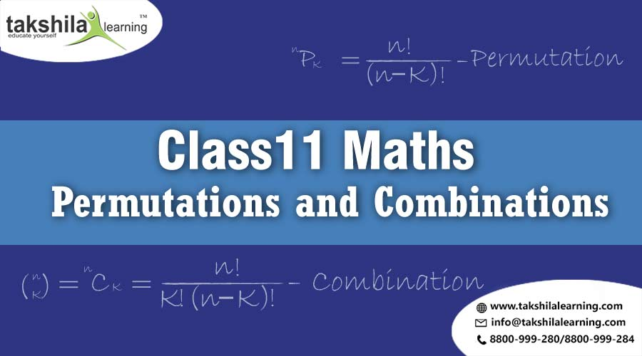 Permutations and Combinations - CBSE Class 11 Maths Solutions
