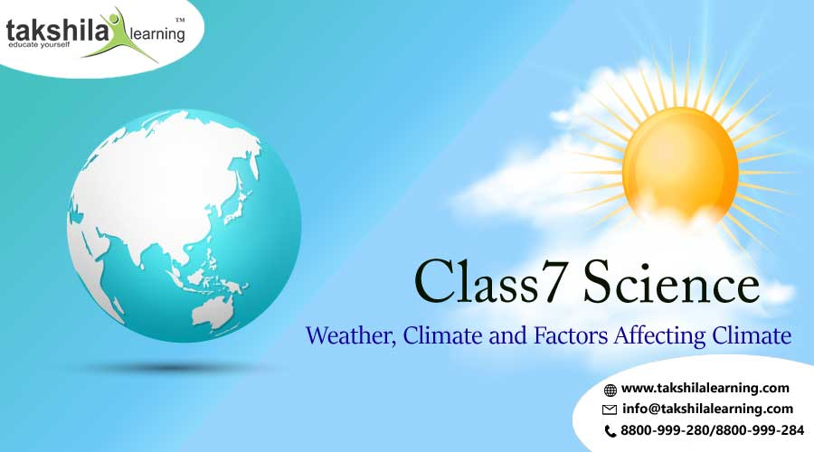 Weather Climate and Factors affecting climate Class 7 Science
