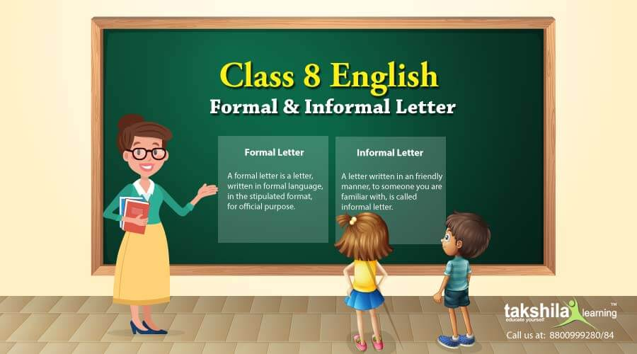 Class 8 English Letter Writing – Samples for formal and