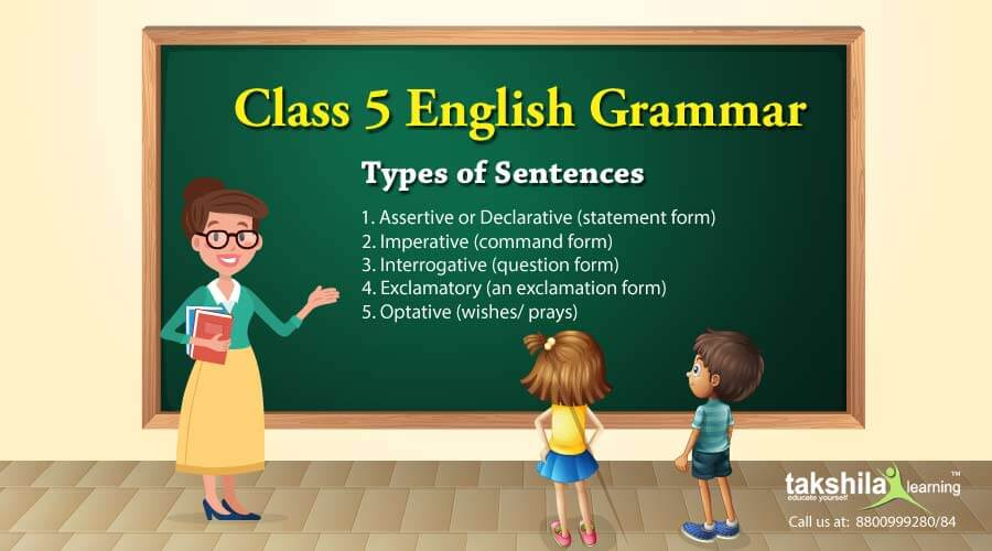 Types of Sentences Definition and Examples Class 5 English Grammar