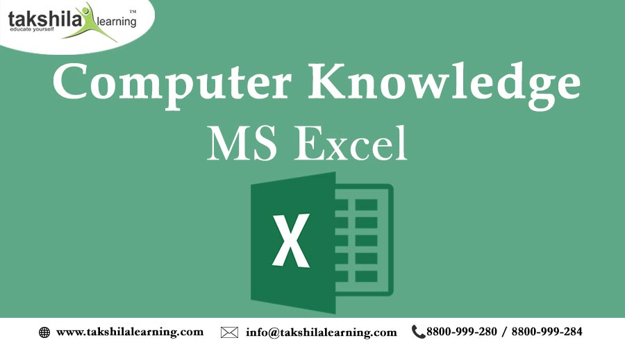 Microsoft Excel Important Terms and Shortcut Keys of MS Excel