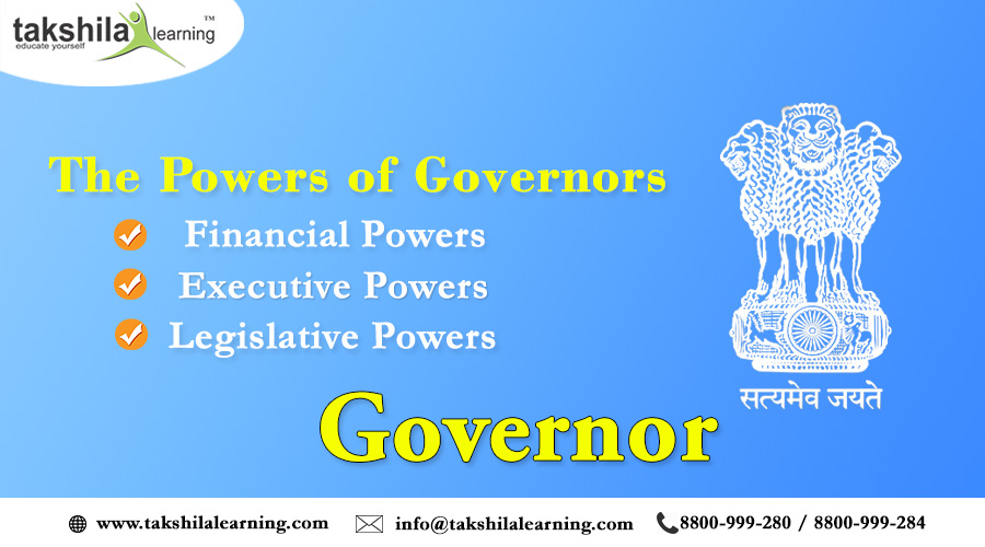 Duties, Powers, and Responsibilities of the Governor