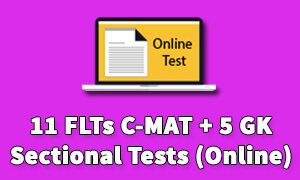 Best CMAT Test Series Online | CMAT Mock Test Online - 11 FLTs C-MAT + 5 GK Sectional Tests