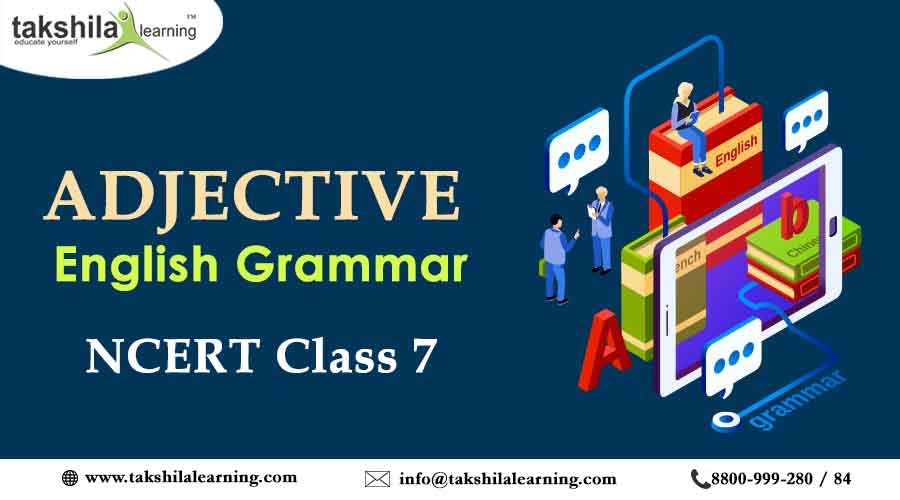 Class 7 English Grammar - Adjective | Practice Worksheet | NCERT