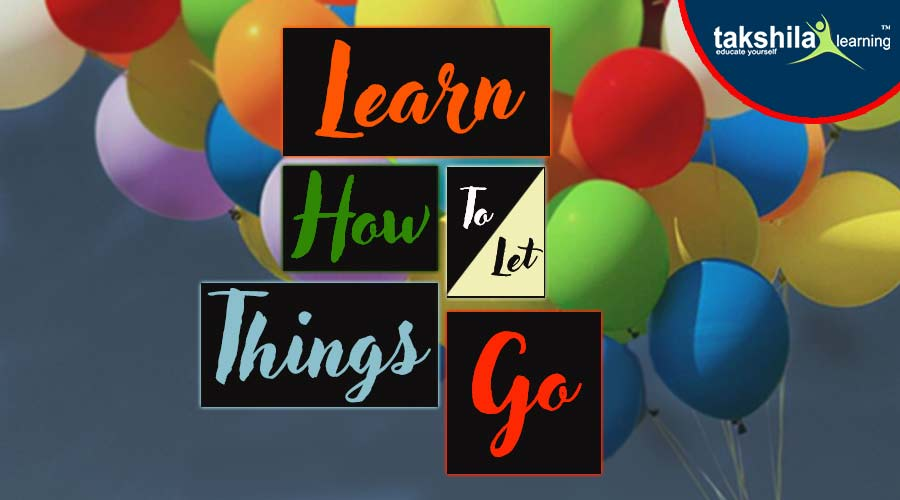 Learn How to Let Thing Go
