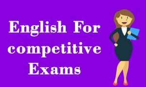 Get best English video lectures For Competitive Exams (IBPS , SBI , RRB)