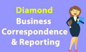 CA Business Correspondence & Reporting diamond