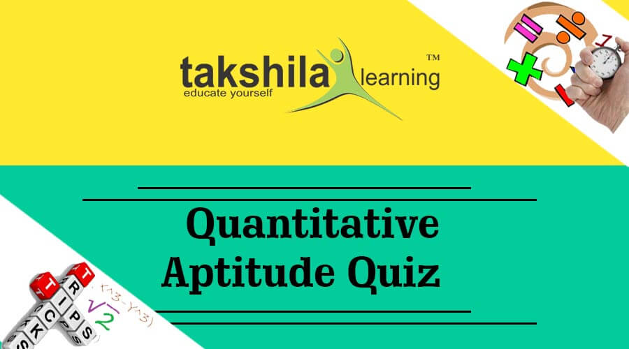 Online & Free Quant Quiz for SSC , IBPS PO & CLERK - Part – 65