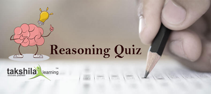 Free Online Reasoning Quiz For IBPS , SSC & CHSL : Part - 58
