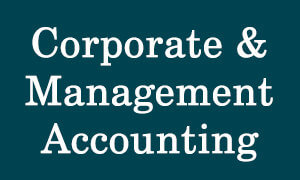 Corporate & Management Accounting for CS Executive Video Lectures in pendrive