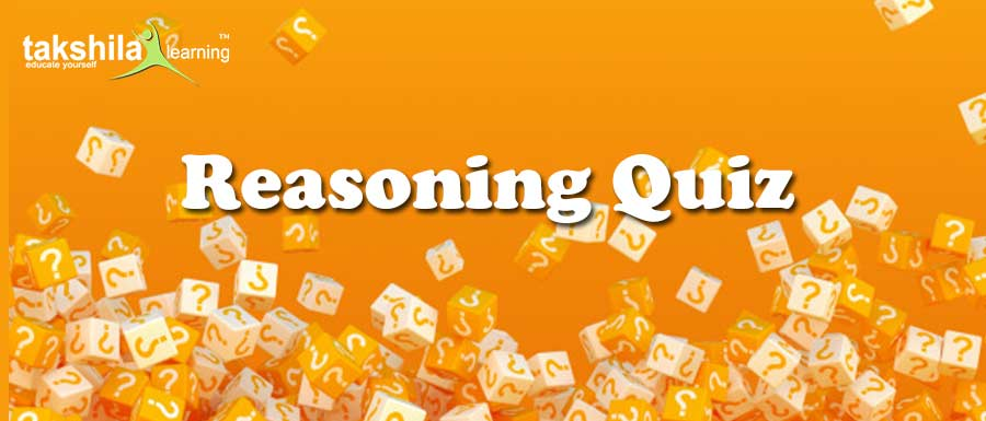 Latest Online Reasoning Quiz For IBPS Clerk & PO , SBI , SSC