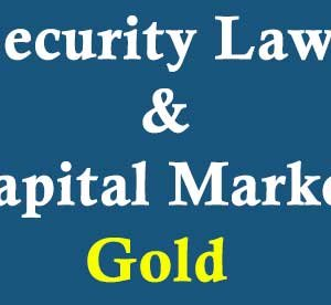 Security-Laws-&-Capital-Market-gold