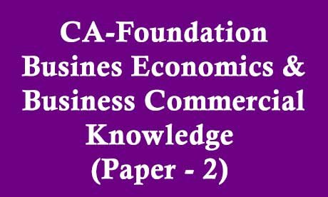 CA-Foundation-Business-Economics-&-Business-Commercial-Knowledge-(Paper---2)-Video-Lectures