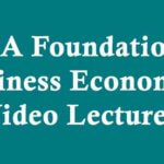 CA Foundation Business Economics Online Classes & Video Lecture