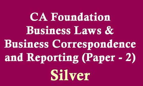 CA-Foundation Business Laws & Business Correspondence and Reporting (Paper - 2)