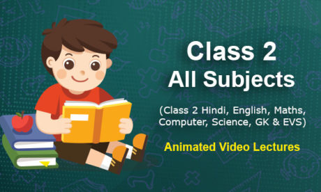 Class 2 Online Classes - All Subjects Animated Classes