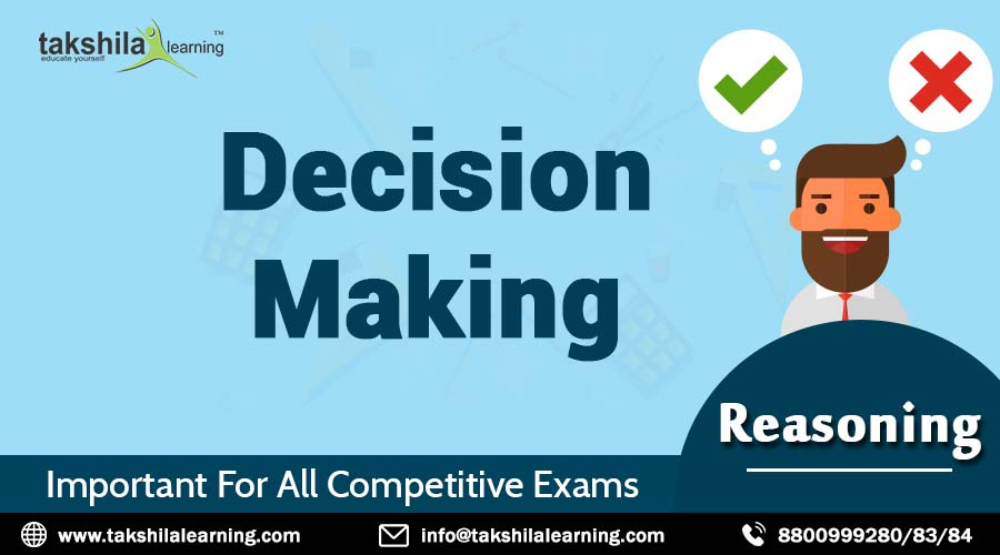 Reasoning Ability Decision Making Process