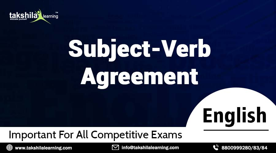 Subject Verb Agreement & Subject Verb Agreement Rules with Examples