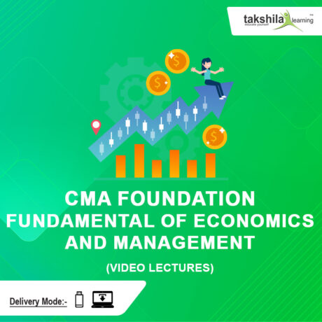 CMA Foundation Fundamental of Economics and Management
