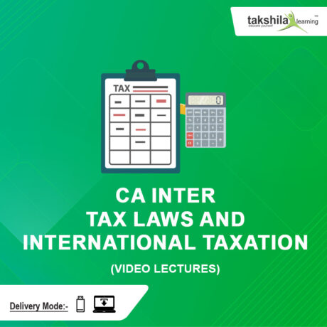 Direct Tax Laws And International Taxation