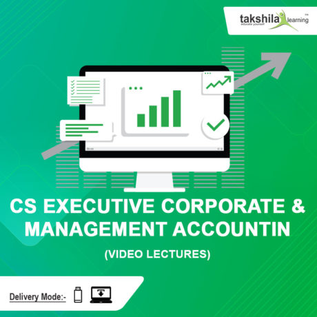 CS EXECUTIVE CORPORATE & MANAGEMENT ACCOUNTING VIDEO LECTURES