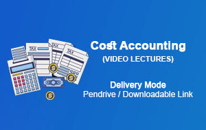 CMA Inter Cost Accounting online classes