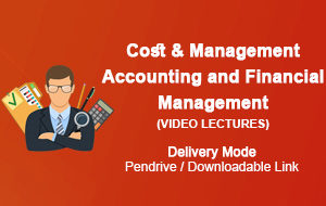 CMA Inter Cost & Management Accounting and Financial Management