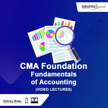 CMA Foundation Fundamentals of Accounting Onlne Classes