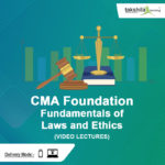 CMA Foundation Fundamentals of Laws and Ethics Video Lectures