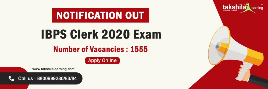 IBPS Clerk 2020 Exam Notification