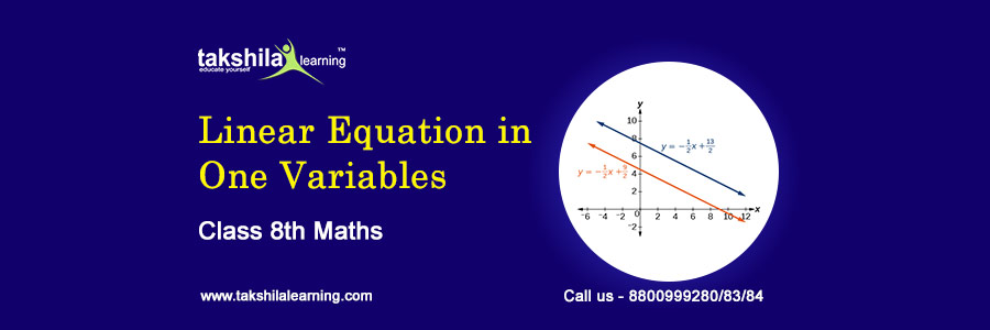 CLASS 8 MATHS LINEAR EQUATION IN ONE VARIABLE