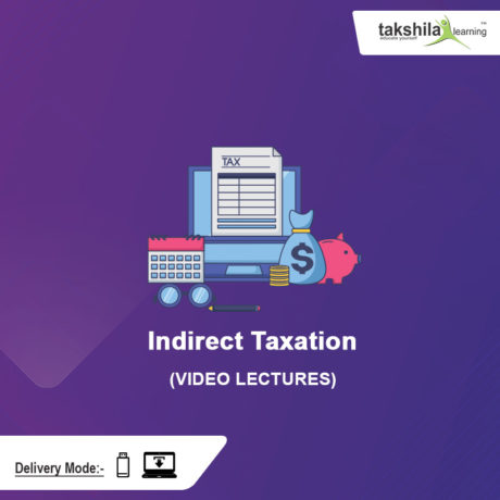Paper 11 - CMA Inter Indirect Taxation Video Lectures