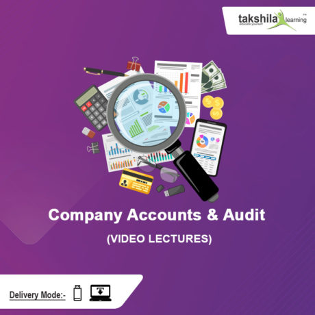 Paper 12 CMA Inter Company Accounts and Audit Video Lectures