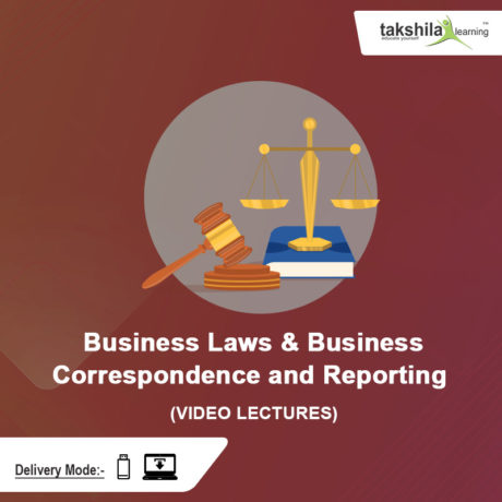 CA Foundation Business Laws & Business Correspondence and Reporting