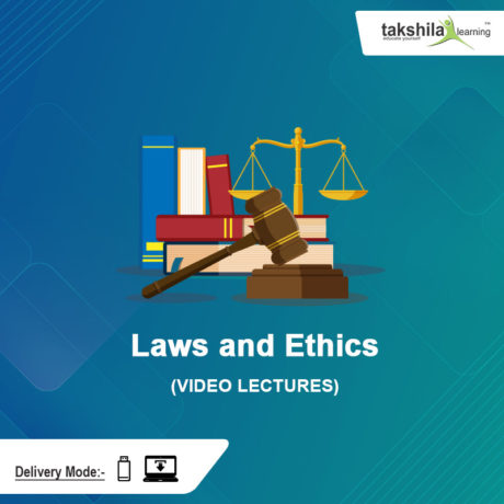 CMA Inter Laws and Ethics Video Lectures & Online Classes : Paper 6