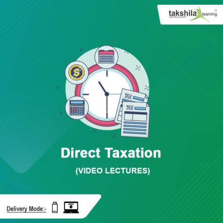 Paper-7 CMA Inter Direct Taxation Video Lectures