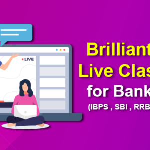 Brilliant 50 Live Classes For Bank Exams